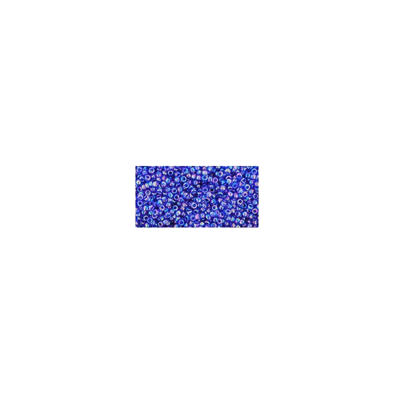 TR-15-87 Transparent-Rainbow Cobalt TOHO Seed Beads