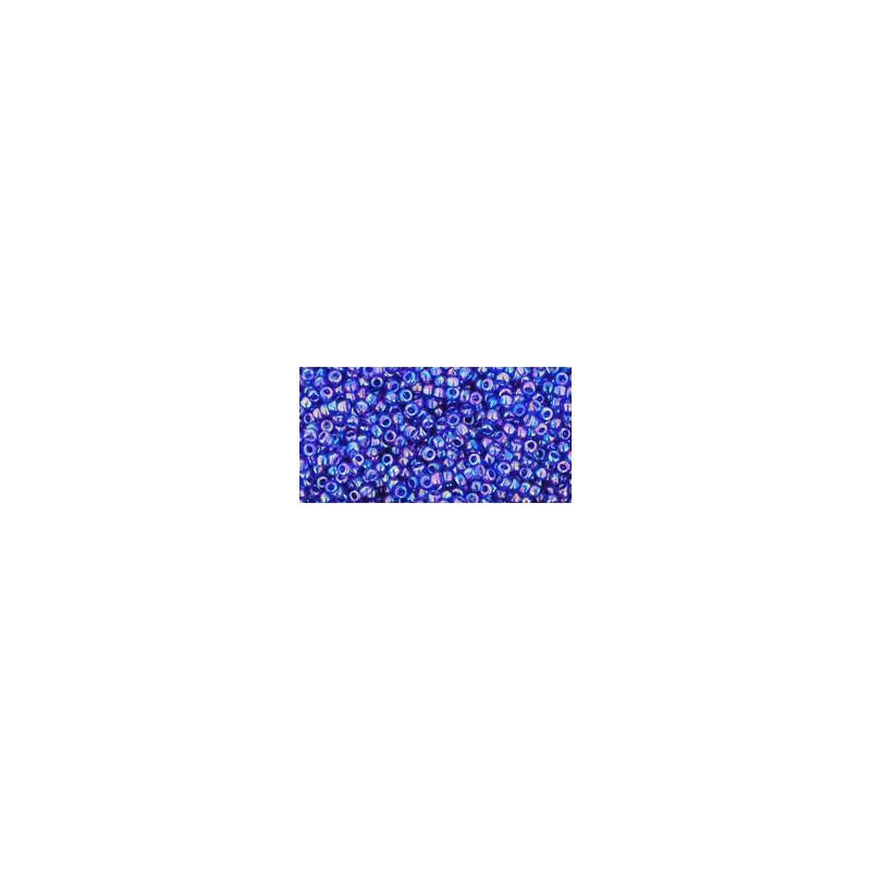 TR-15-87 Transparent-Rainbow Cobalt TOHO Seemnehelmed