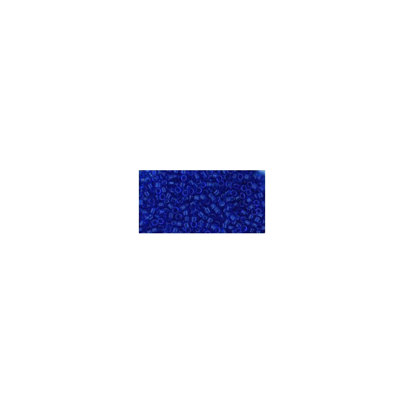 TT-01-8 Transparent Cobalt TOHO Treasures Seed Beads