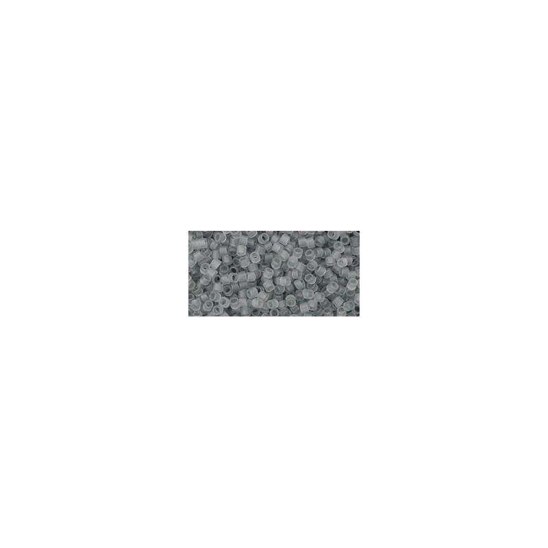 TT-01-9F Transparent-Frosted Light Gray ТОХО Трэжерс Бисер