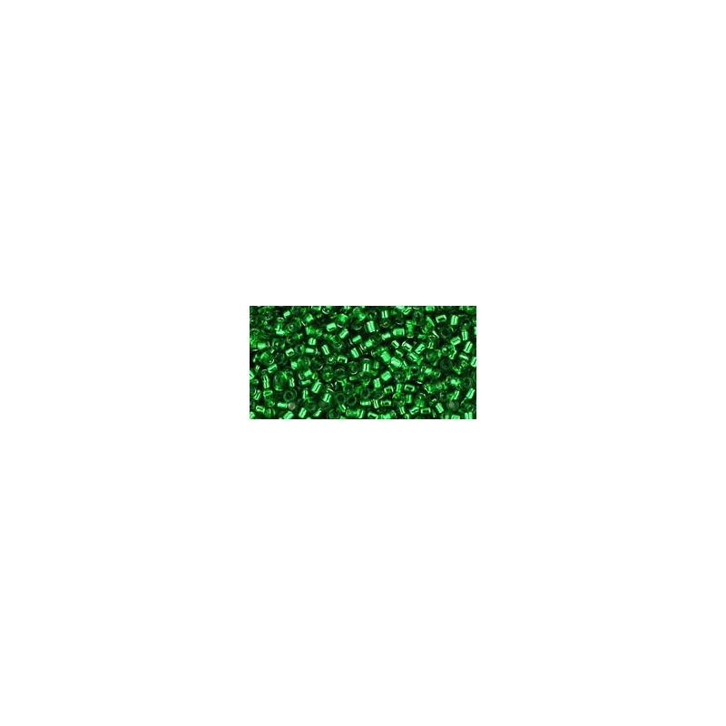 TT-01-27 Silver-Lined Peridot TOHO Treasures Seed Beads