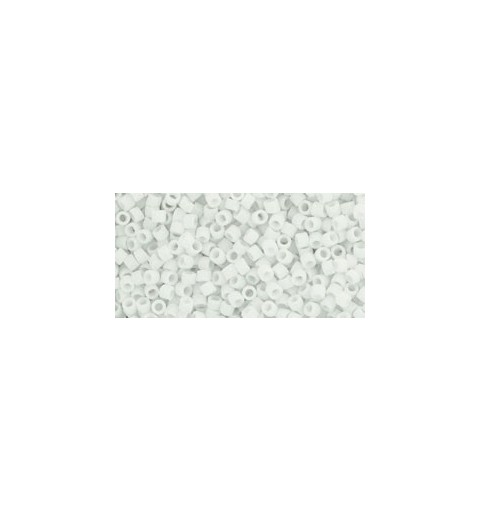 TT-01-41F Opaque-Frosted White TOHO Treasures Seed Beads