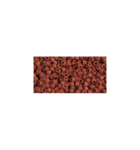 TT-01-46LF Opaque-Frosted Terra Cotta TOHO Treasures Seed Beads