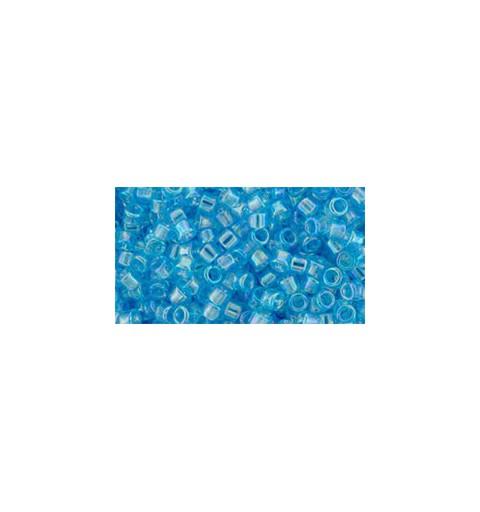 TT-01-163 Transparent-Rainbow Aquamarine TOHO Treasures Seed Beads