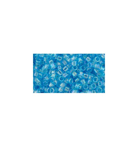 TT-01-163 Transparent-Rainbow Aquamarine TOHO Treasures Seemnehelmed