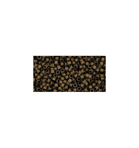 TT-01-221F Frosted Bronze TOHO Treasures Seed Beads