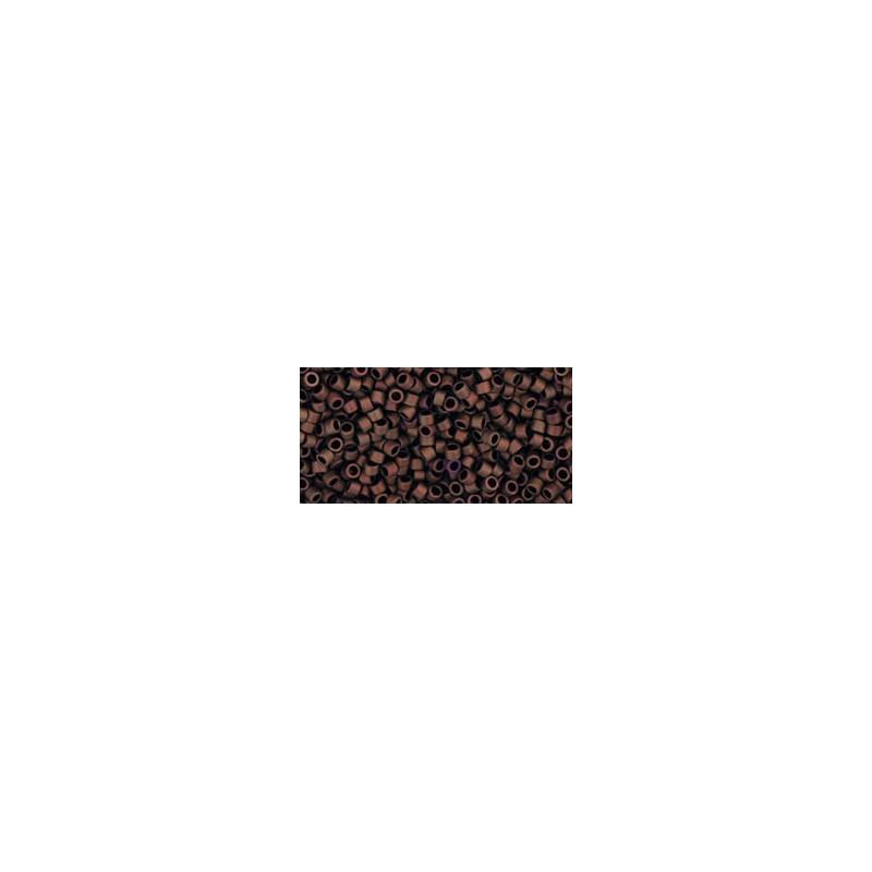 TT-01-618 Opaque-Pastel-Frosted Mudbrick TOHO Treasures Seemnehelmed