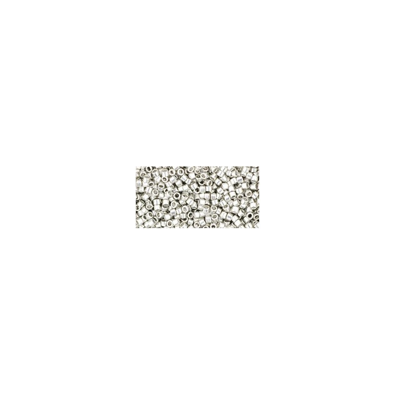 TT-01-714 Metallic Silver TOHO Treasures Seed Beads