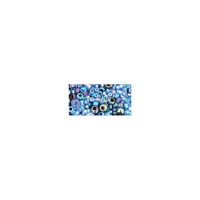 TX-01-3204 Yumi Periwinkle Mix TOHO Seed Beads