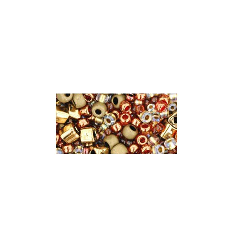 TX-01-3205 Ocha Bronze Mix TOHO Seed Beads