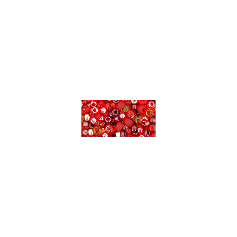 TX-01-3208 Momiji Red Mix TOHO Seed Beads