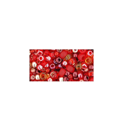 TX-01-3208 Momiji Red Микс ТОХО Бисер