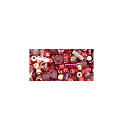 TX-01-3217 Kokoro Mauve/Gold Mix TOHO Seed Beads