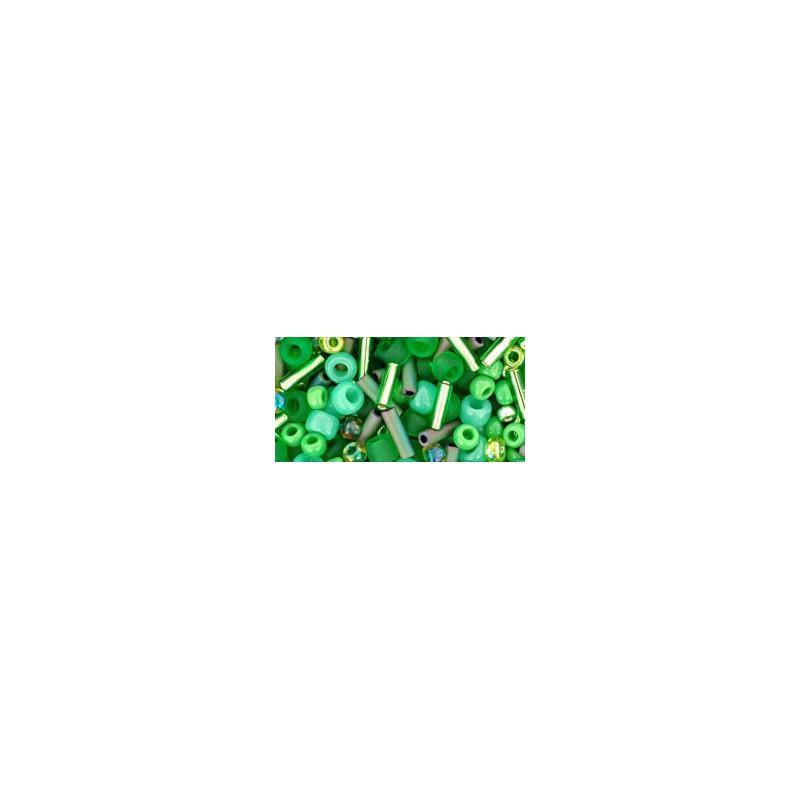 TX-01-3221 Wasabi Green Микс ТОХО Бисер