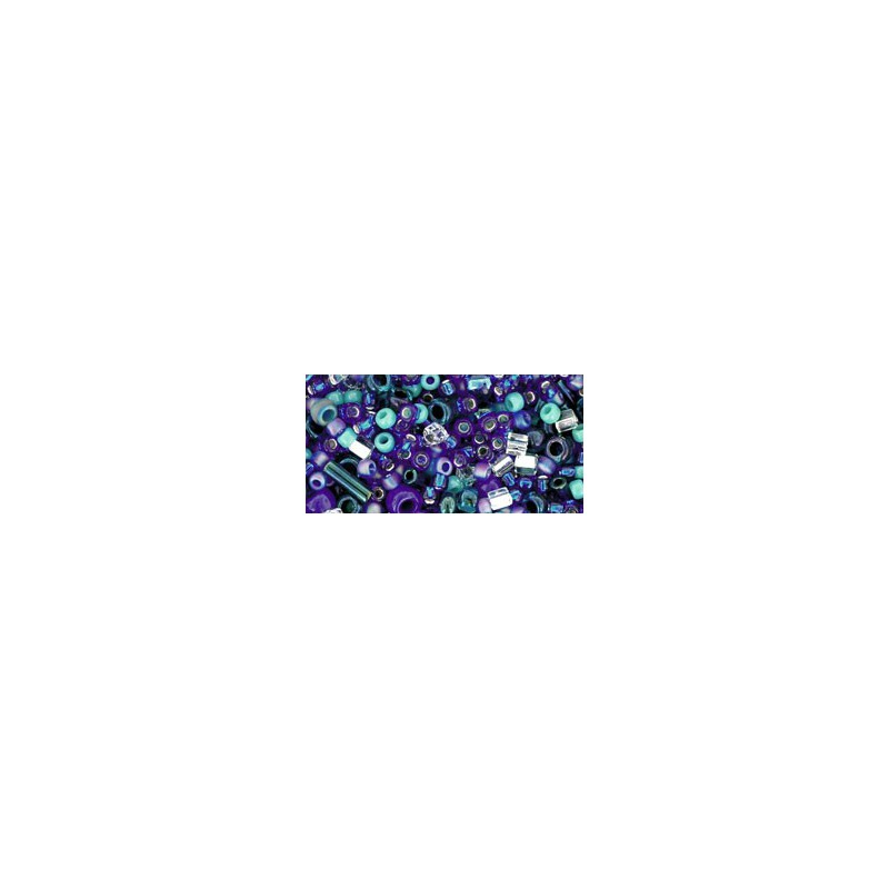 TX-01-3224 Mahou Blue/Green Mix TOHO Seed Beads