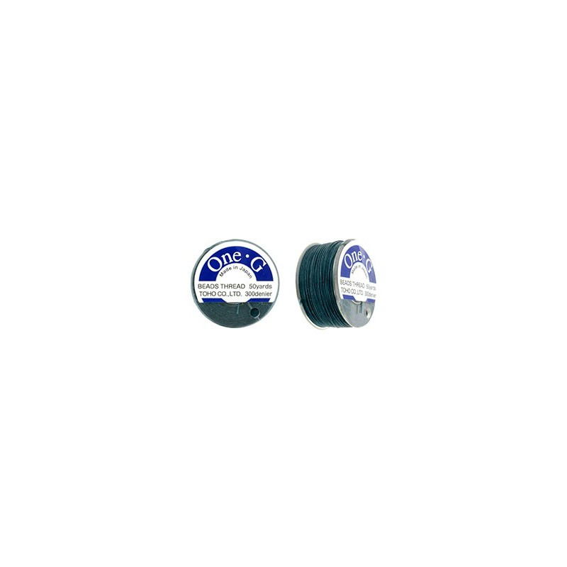 Tume Roheline TOHO One-G Niit Tikkimiseks 330dTex 46m (50yd) pikk