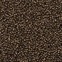RR-15-457 Dark Bronze Metallic Miyuki Round Rocailles 15/0