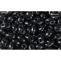 Twin-2RH-23980 Jet PRECIOSA-ORNELA Seed Beads