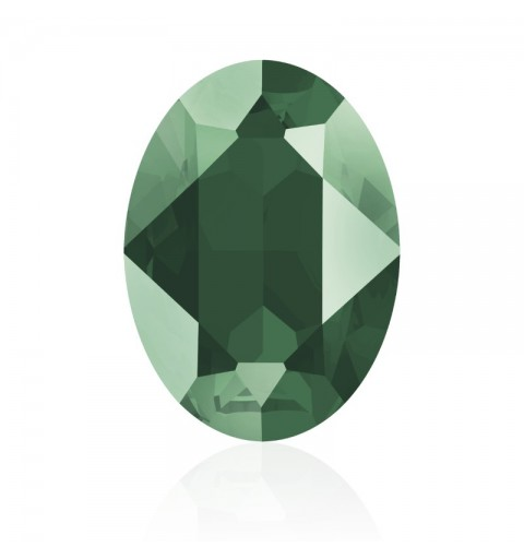 14x10mm Crystal Royal Green (001 L109S) Oval Fancy Stone 4120 Swarovski Elements