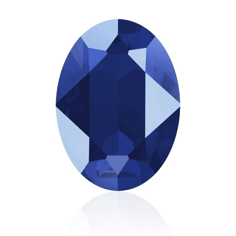 18x13mm Crystal Royal Blue (001 L110S) Oval Fancy Stone 4120 Swarovski Elements