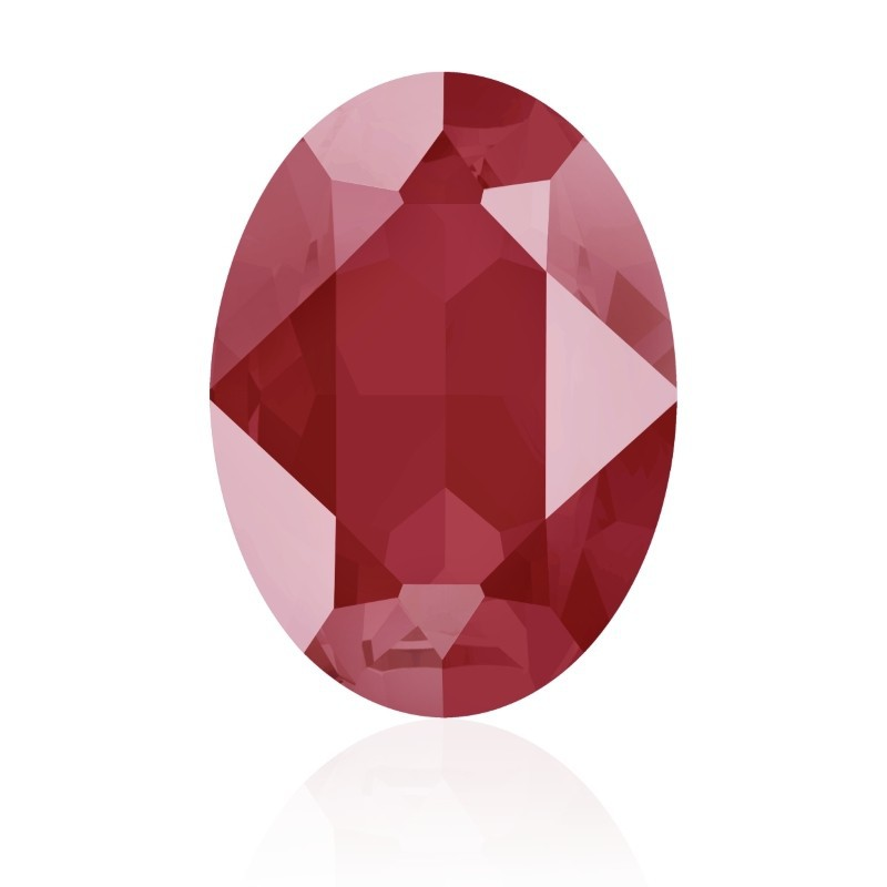 18x13mm Crystal Royal Red (001 L107S) Oval Fancy Stone 4120 Swarovski Elements