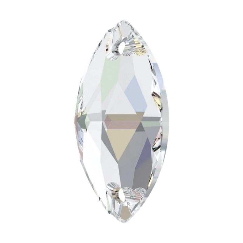 12x6MM Crystal AB F (001 AB) 3223 Navette SWAROVSKI ELEMENTS