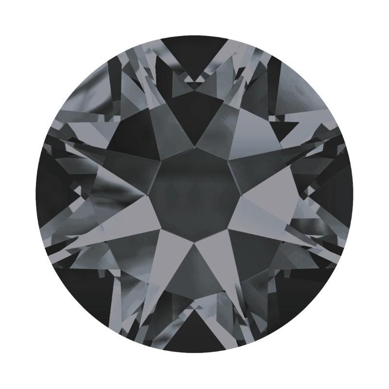 2058 SS9 Crystal Silver Night F (001 SINI) XILION Rose SWAROVSKI ELEMENTS