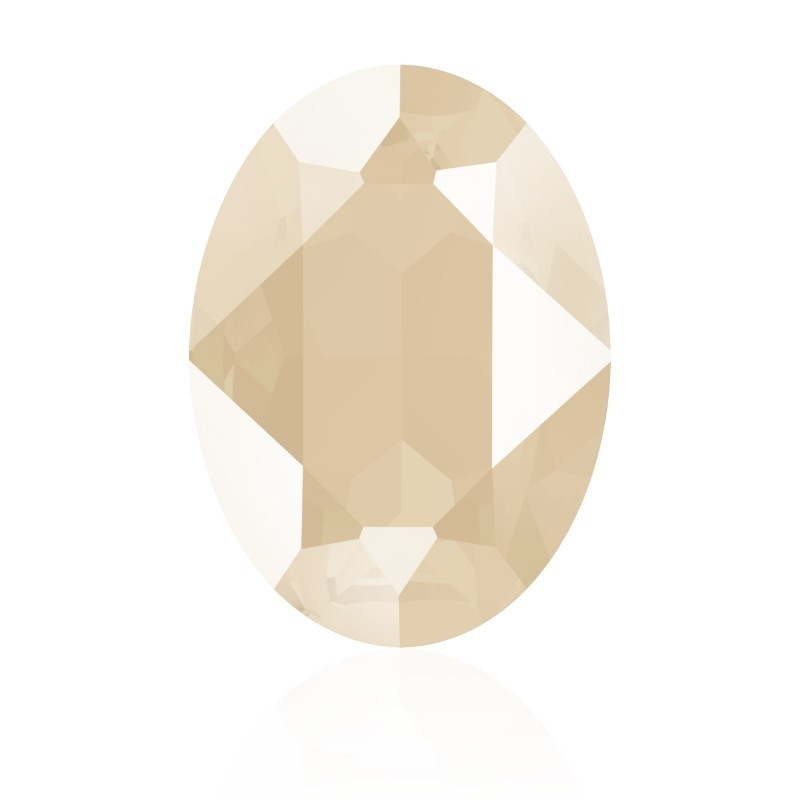 14x10mm Crystal Ivory Cream (001 L106S) Oval Ehete Kristall 4120 Swarovski Elements