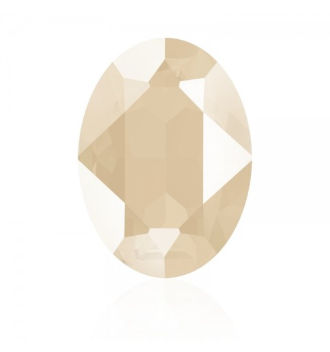 18x13mm Crystal Ivory Cream (001 L106S) Овальный Кристалл для украшений 4120 Swarovski Elements
