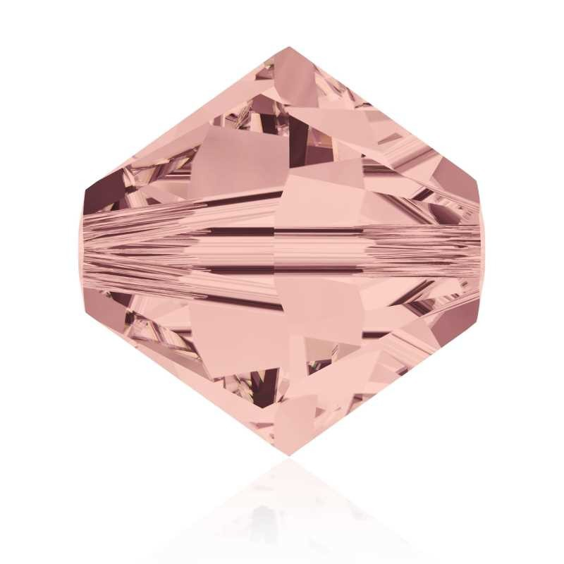6MM Blush Rose (257) 5328 XILION Bi-Cone Beads SWAROVSKI ELEMENTS
