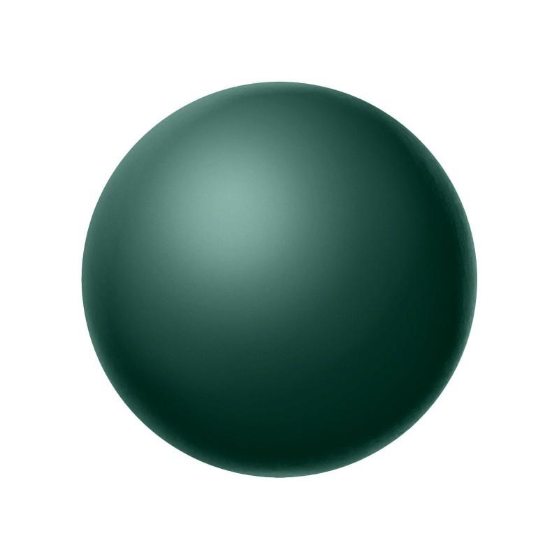8MM Malachite (75695) Pärlmutter Ümmargune Pärl Preciosa