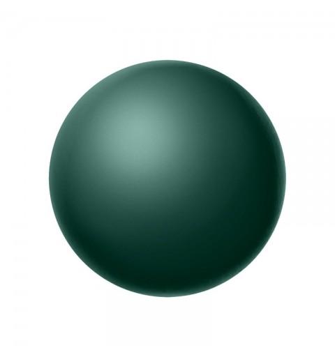 8MM Malachite (75695) Nacre Pearl round Preciosa