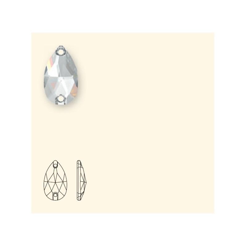 18x10.5MM LIGHT SIAM F (227) 3230 Drop SWAROVSKI ELEMENTS