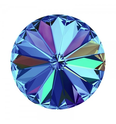 12MM Crystal Bermuda Blue F (001 BB) 1122 Rivoli SWAROVSKI ELEMENTS