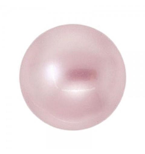 12MM Powder Rose Kristall Ümmargune Pärl (001 352) 5810 SWAROVSKI ELEMENTS