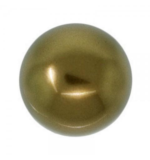 12MM Crystal Antique Brass Pearl (001 402) 5810 SWAROVSKI ELEMENTS