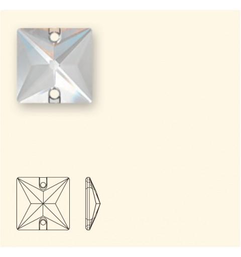 16MM CRYSTAL AB F (001 AB) 3240 Square SWAROVSKI ELEMENTS