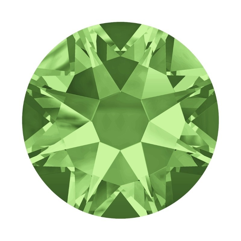 2058 SS5 Peridot F (214) SWAROVSKI ELEMENTS