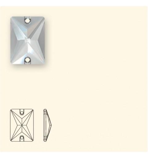 18x13MM CRYSTAL AB F (001 AB) 3250 Rectangle SWAROVSKI ELEMENTS