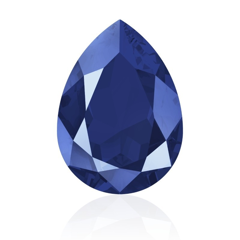 14x10mm Crystal Royal Blue (001 L110S) Pear-Shaped Fancy Stone 4320 Swarovski Elements