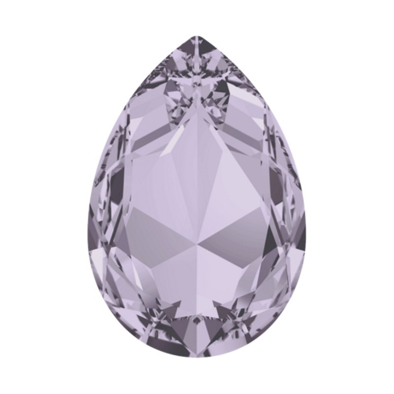 30x20mm Smoky Mauve F (265) Pear-Shaped Fancy Stone 4327 Swarovski Elements