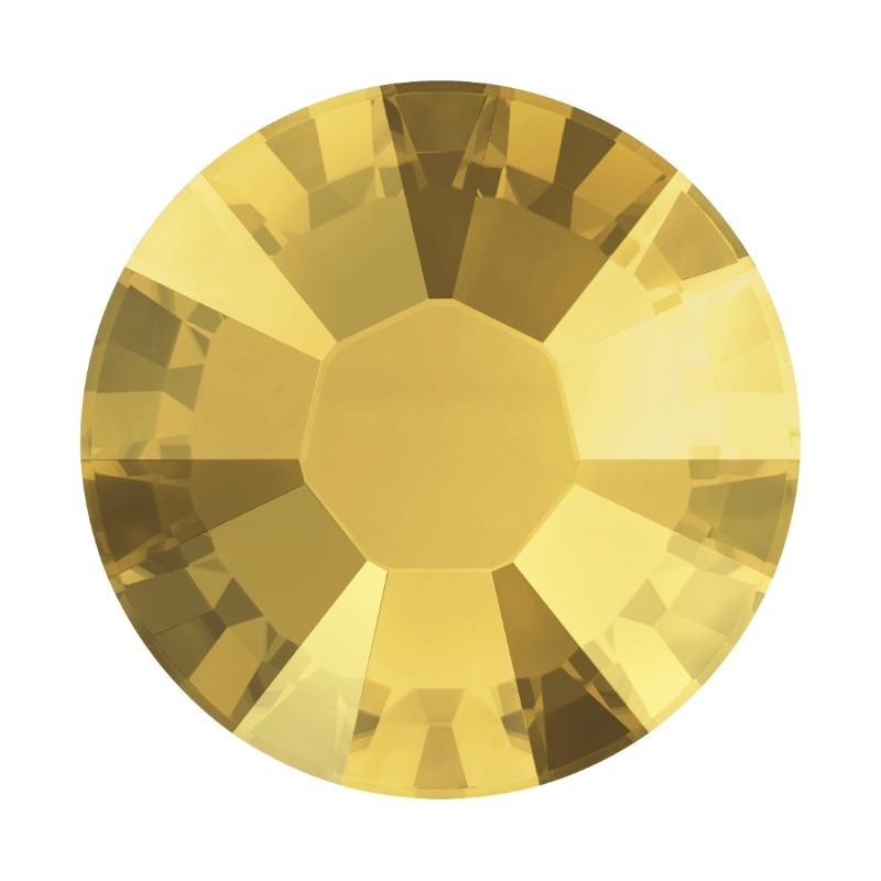 2078 SS20 Crystal Metallic Sunshine A HF (001 METSH) XIRIUS SWAROVSKI ELEMENTS