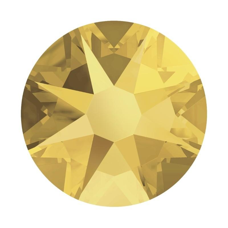 2088 SS34 Crystal Metallic Sunshine F (001 METSH) XIRIUS Rose SWAROVSKI ELEMENTS
