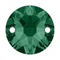 12MM Emerald F (205) 3288 XIRIUS SWAROVSKI ELEMENTS