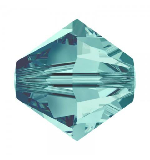 6MM Blue Zircon (229) 5328 XILION Bi-Cone Beads SWAROVSKI ELEMENTS