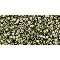 TT-01-457 Gold-Lustered Green Tea TOHO Treasures Seed Beads