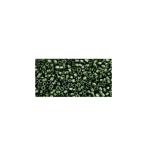 TT-01-940 Transparent Olivine TOHO Treasures Seed Beads