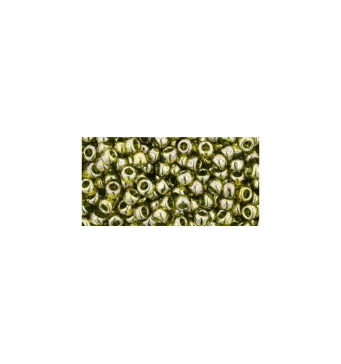 TR-08-457 Gold-Lustered Green Tea TOHO SEED BEADS