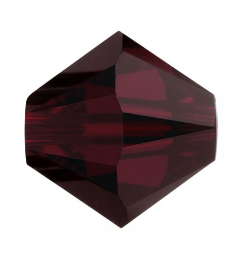 4MM Garnet (241) 5328 XILION Bi-Cone Beads SWAROVSKI ELEMENTS