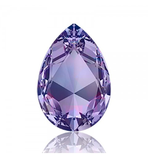 30x20mm Tanzanite F (539) Pear-Shaped Fancy Stone 4327 Swarovski Elements
